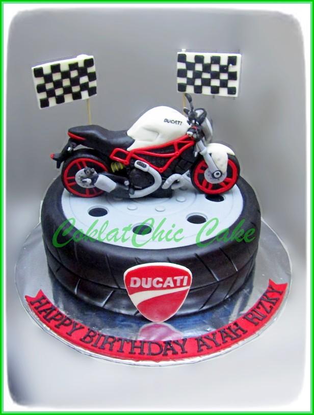 Cake Ducati AYAH RIZKY 24 cm