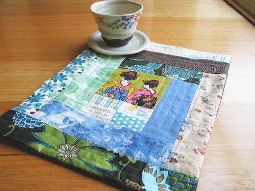 Quilted Patchwork Table Mat
