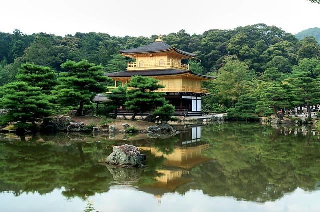 kinkakuji Golden Pavilion 京都 金閣寺 Jul/2006