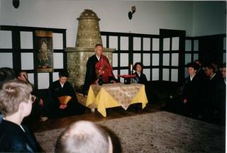 Roshi in Poland 1991