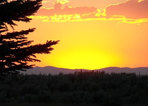 county sunset idaho madison rexburg beaverdickpark