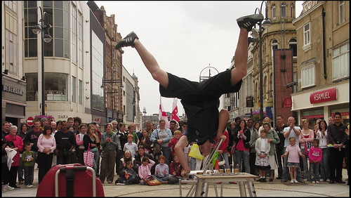 Performance on Briggate