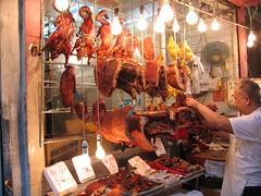 market, charcuterie, meat, food, bazaar, butcher,