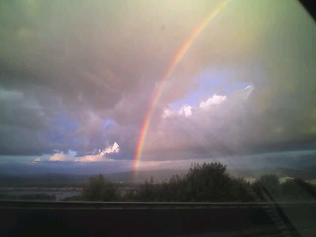 Rainbow in rainier oregon flickr photo sharing for Indoor gardening rainier oregon