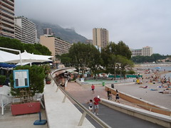 Seashore in Monaco