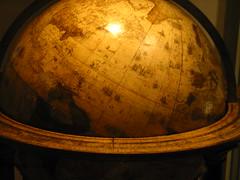 A Wooden Globe