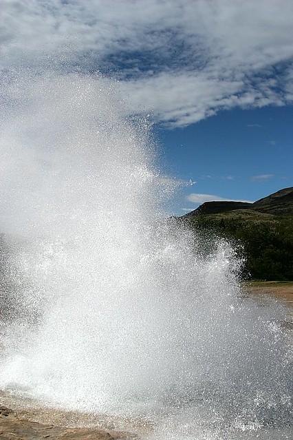 Strokkur Geysir Eruption #5 - Iceland