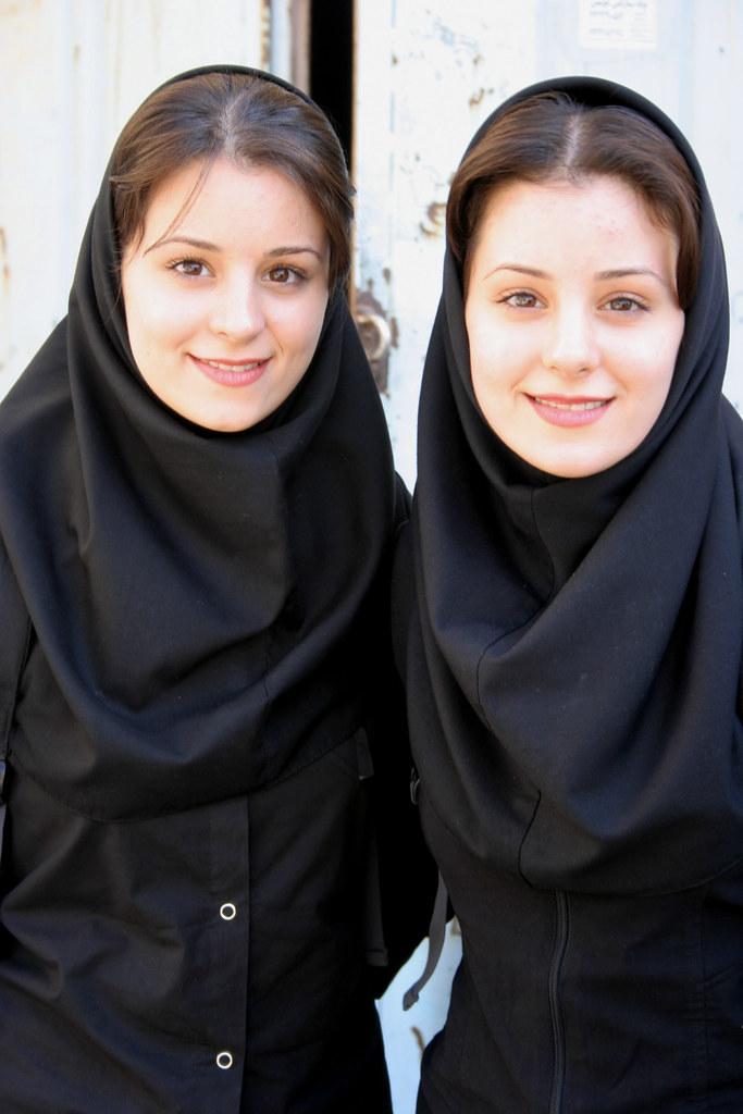 Twins, Isfahan, Iran, 2004