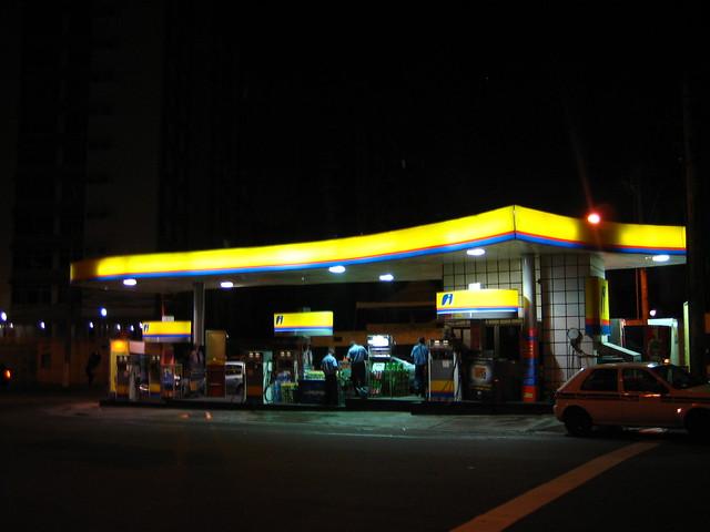 Salvador Gas Station