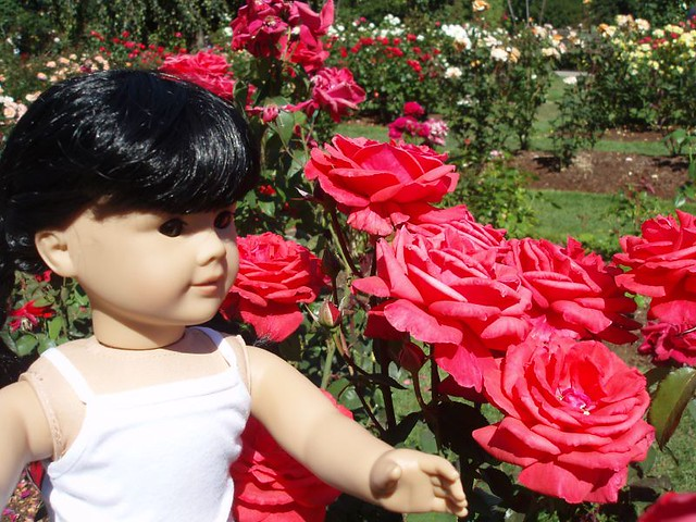 Inky with Roses