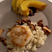 chanterelle risotto with scallops