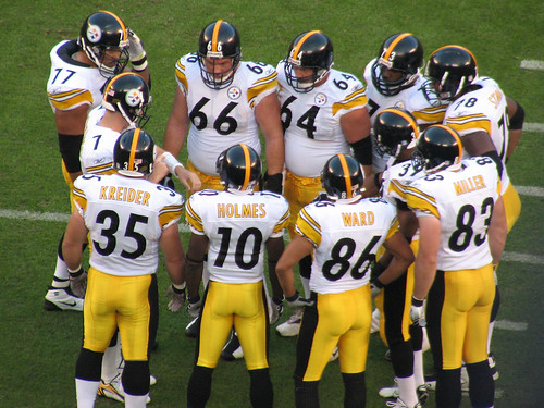 Pittsburgh Steelers Huddle