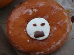doughnut, glaze, food, dessert, cuisine, snack food,