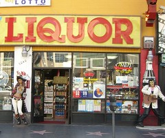 liquor store, retail-store,