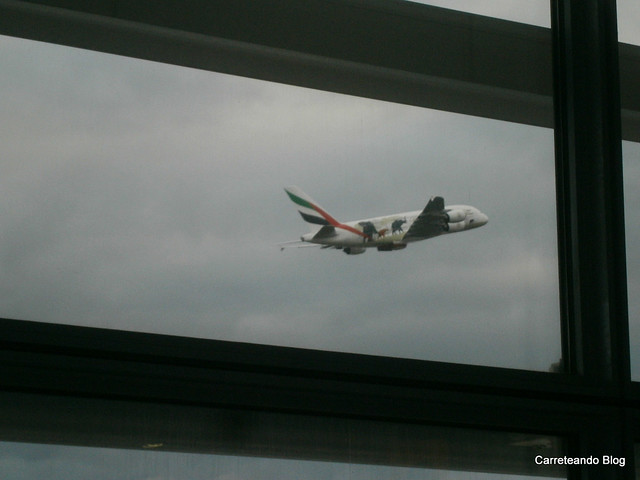 Volando de LHR a EZE en un B777-200 de BA