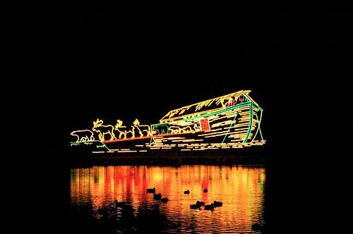 Noahs Ark - Winter Festival of Lights -Niagara Falls