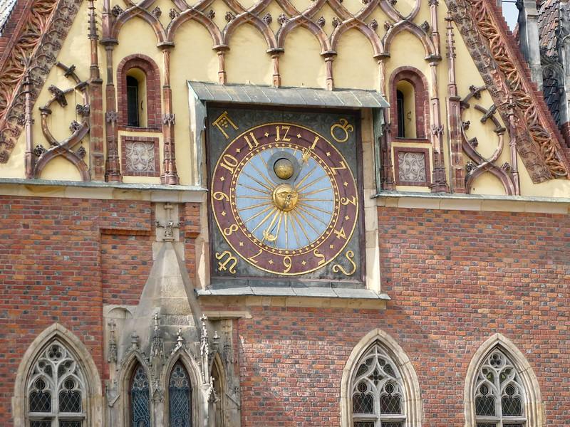Old City Hall Clock, Wroclaw