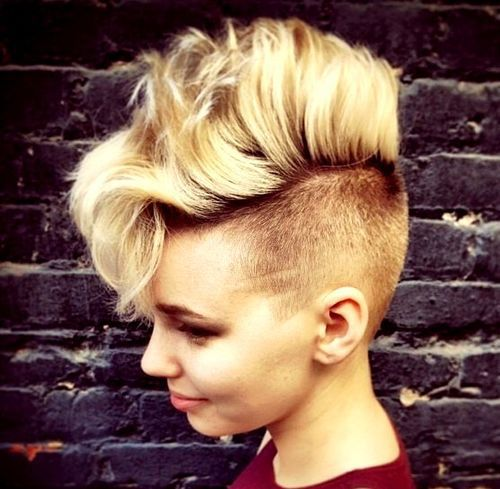 Mohawk Hairstyles Trend 2018 : Say Hello to Your Future looks ! 1