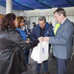 VII Carrera popular, escolar y solidaria Santa Clara Visita Alcalde