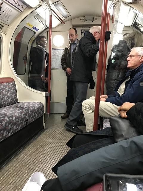 London train,  March 20, 2018