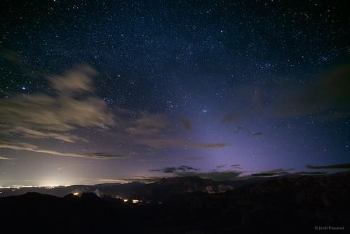 Llum zodiacal a Serraseca