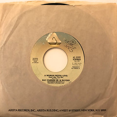 RAY PARKER JR. & RAYDIO:A WOMAN NEEDS LOVE(JUST LIKE YOU DO)(JACKET A)