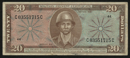 Twenty-Dollars-Series-681-Military-Payment-Certificate