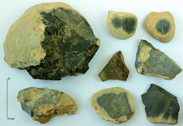 Sedmerovec radiolarite mining in the mesolithic and neolithic of Slovakia