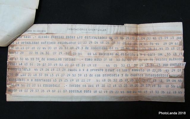Telegrama cifrado