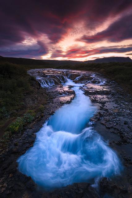 Bruarfoss, Iceland!