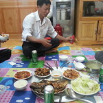 Lunch at Giang's before leaving