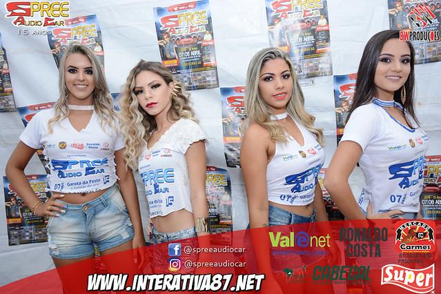 DESFILE CONCURSO GAROTA SPREE ÁUDIO CAR 2018