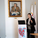 Seg, 16/04/2018 - 10:03 - A 7.ª edição da Semana Internacional decorreu entre 16 e 20 de abril, no âmbito do Programa de Mobilidade Internacional Erasmus+, com o objetivo de promover a troca de experiências e boas práticas de trabalho entre colegas de instituições de ensino superior, de 20 países europeus.