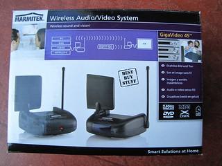 audio/video sender/receiver