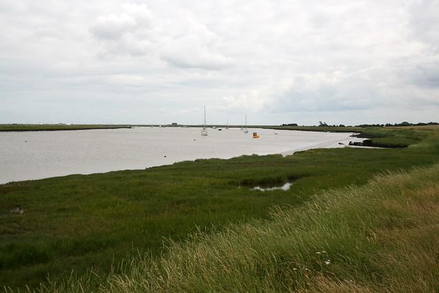 The River Alde near Aldeburgh