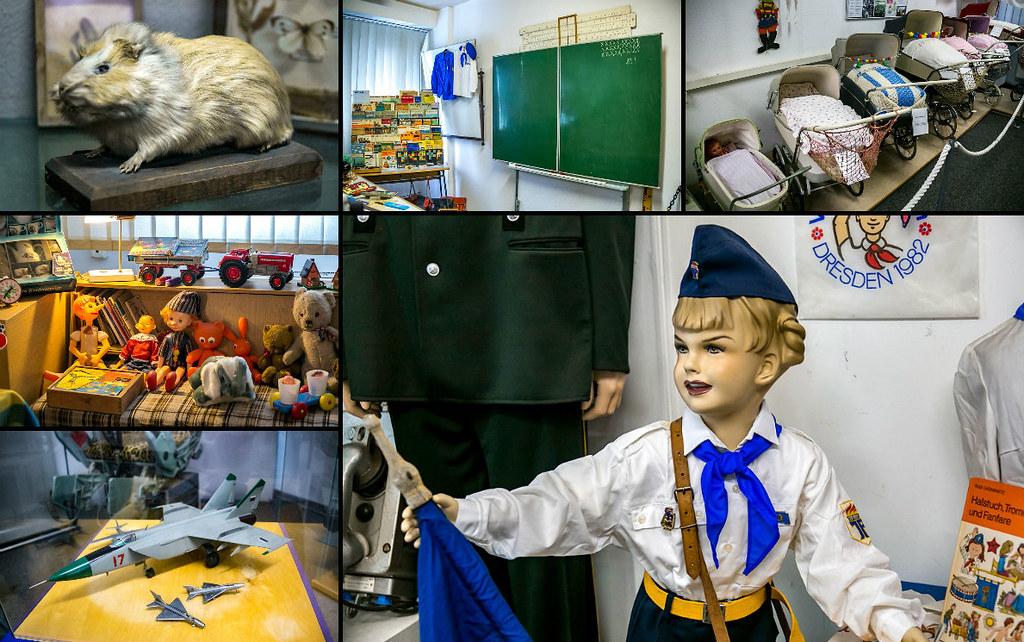 Игрушки и учёба детей ГДР