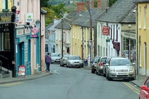 Parking on the Sidewalk in Rathdrum, Ireland