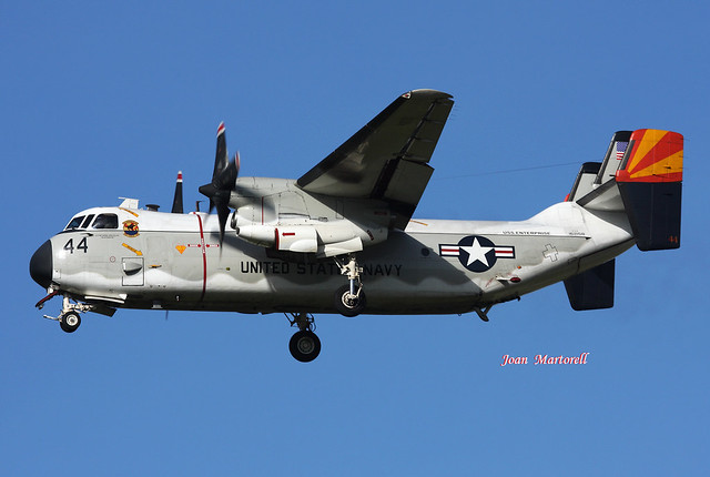 US Navy 162158 44 Grumman C-2A Greyhound PMI 12-2007