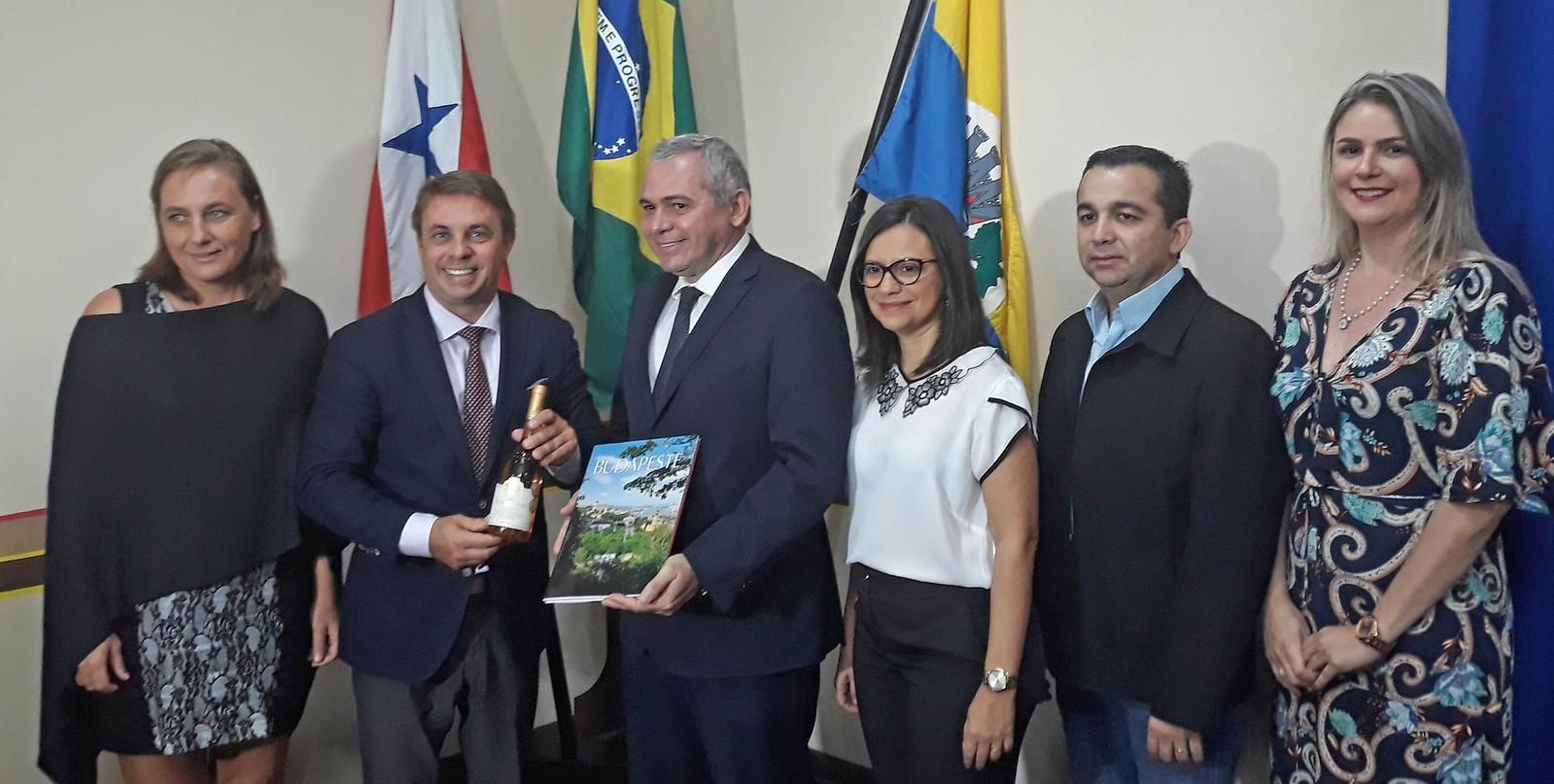 Hungria tem interesse em investir em Santarém, afirma embaixador húngaro, Embaixador da Hungria em Santarém