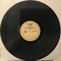 RAY BARRETTO:LA CUNA(RECORD SIDE-A)