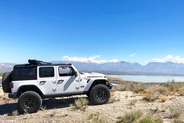 Black Rhino Highland on Jeep Wrangler Rubicon JL