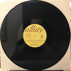 ALLURE:HEAD OVER HEELS(RECORD SIDE-A)