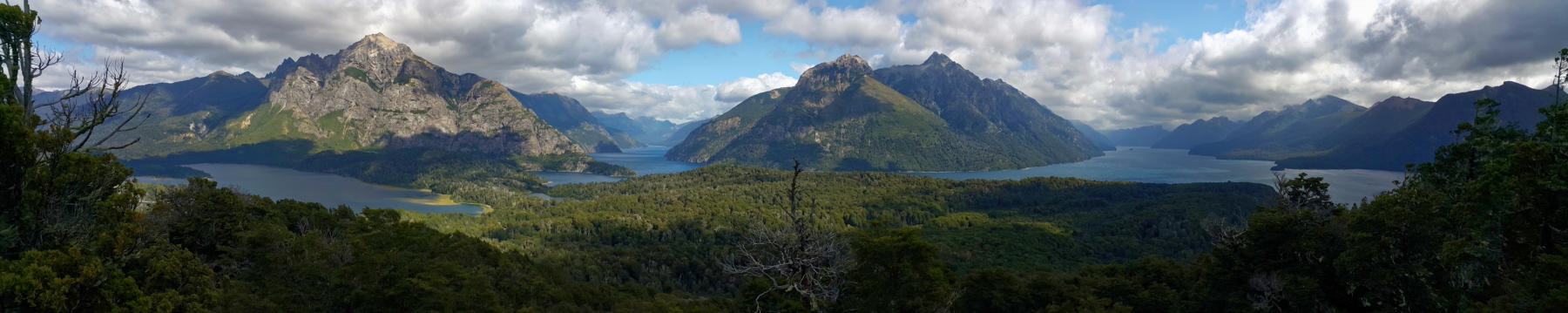 Panorama - View from Cerro Llao Llao