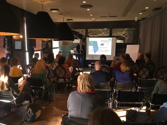 Interreg Europe projekta BRANDTour pārstāvju vizīte Rīgā. 18.-19.04.2018.