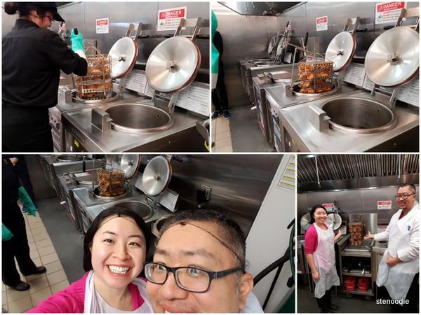 KFC Pressure cookers