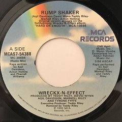 WRECKX-N-EFFECT:RUMP SHAKER(LABEL SIDE-A)