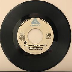 GIL SCOTT-HERON & BRIAN JACKSON:HELLO SUNDAY! HELLO ROAD!(RECORD SIDE-A)