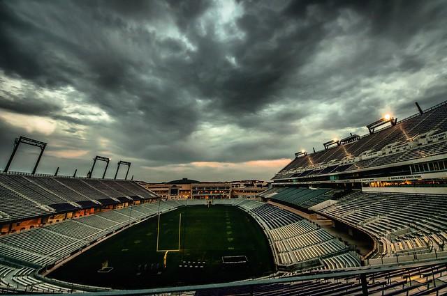 Tcu stadium, Nikon D300S, Sigma 8-16mm F4.5-5.6 DC HSM