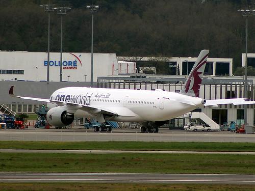 A7-ALZ A350 Qatar TLS 14-04-18