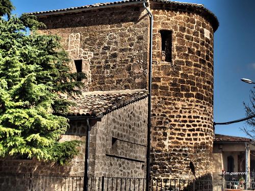 Ábside iglesia de Villalba de la Sierra-Cuenca-